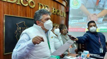 Conasa suspende paro de 48 horas y advierte que Bolivia atraviesa la 'peor situación' por la pandemia