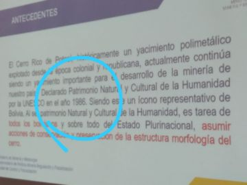 No convenció el informe sobre la conservación del Cerro Rico