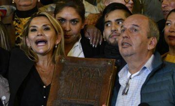 Añez tras la captura de Murillo: 'Nadie elige colaboradores para que se corrompan'