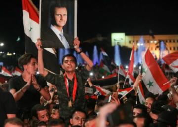 Bashar al Asad, reelegido presidente de Siria