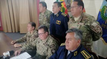 Amplían dos nuevos delitos contra siete exjefes militares y policiales por el caso del supuesto 'golpe' de Estado
