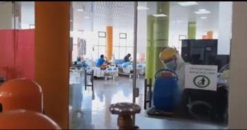Cada día se incrementan los pacientes en el Centro Covid Pary Orcko