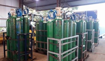 Brasil autoriza la exportación de 320 toneladas de oxígeno hacia Bolivia