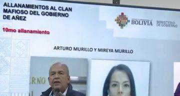 Policía practica 10 allanamientos y aprehenden a hermana de Murillo