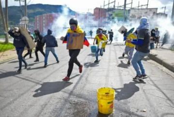 Se cumple un mes de sangrientas protestas en Colombia