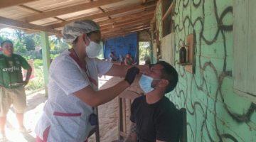 Rastrillaje en Santa Ana del Yacuma detecta casi 200 casos sospechosos de Covid-19