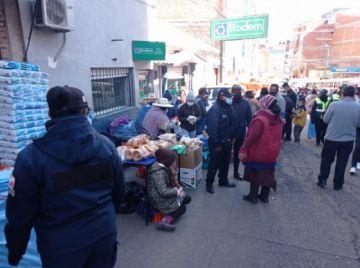 La Intendencia Municipal controla en mercados para evitar ferias ilegales