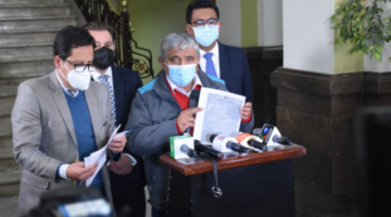 Arias es citado a dos audiencias y denuncia que el Gobierno congeló las cuentas de la Alcaldía