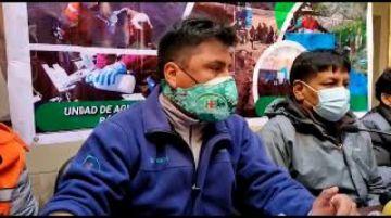 Director del Hospital Daniel Bracamonte informa sobre el uso del oxígeno