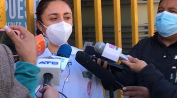 Hospitales Covid en La Paz están al límite de su capacidad