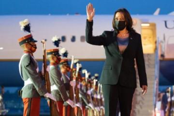 Kamala Harris llega a Guatemala para atender las causas de la migración ilegal a EEUU