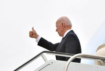 Biden vuela a Europa para su primer viaje en el extranjero como presidente de EEUU
