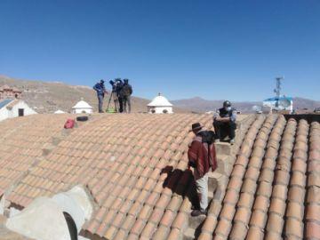 La Reina del Sur 3 se filma en Potosí