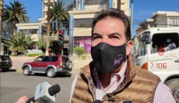 Reyes Villa abre posibilidad de decretar desastre sanitario en Cochabamba ante escalada de Covid-19