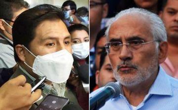 """Lucha contra la Covid-19: Auza cree que Carlos Mesa """"quiere limpiar el rostro del gobierno de facto"""""""