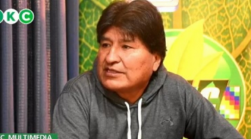 Evo Morales plantea que expresidente Lenin Moreno sea investigado por préstamos de material no letal