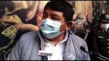 Gobernación de Potosí afirma que garantiza oxígeno y busca medicamentos para el centro covid