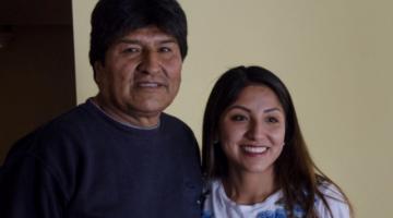 Evo Morales justifica vacunación de su hija Evaliz por ser funcionaria pública