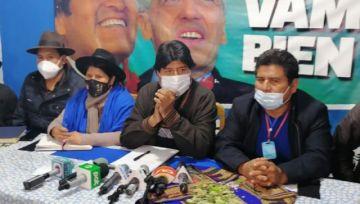 Evo Morales dice que Jeanine Añez es 'la mejor fiscal' en las investigaciones del caso 'golpe'
