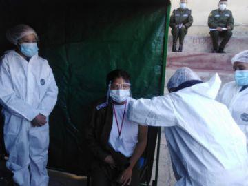 El Sedes lleva las vacunas a las instituciones potosinas