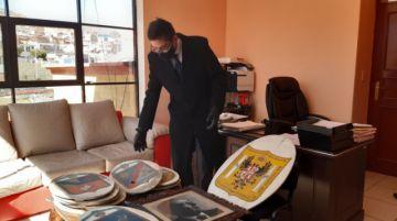 Encuentran bienes culturales que estaban abandonados en el café San Marcos