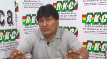Caso 'golpe': Fiscal dice que Evo Morales será convocado 'en la medida que sea pertinente'