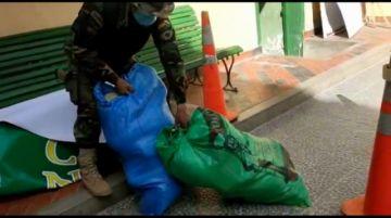 Incautan droga valuada en 300 mil dólares en Bolivia y si llegaba a Chile el precio se duplicaba