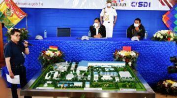 Reactivan construcción de Planta Siderúrgica del Mutún con una inversión de $us 546,1 millones