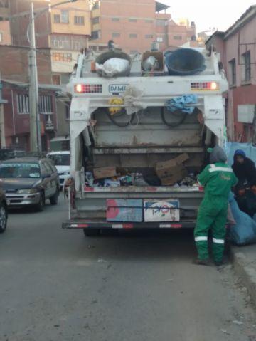 EMAP suspenderá el recojo de basura por el feriado del 21 de junio