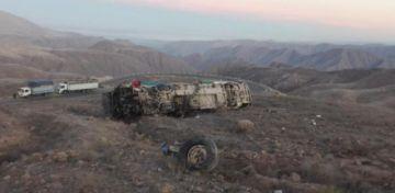 Accidente de autobús que transportaba mineros deja 27 muertos en Perú