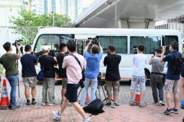 Justicia de Hong Kong rechaza liberación bajo fianza de directivos de periódico prodemocracia