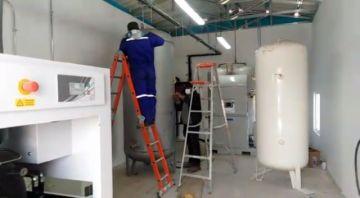 Mañana entra en funcionamiento la segunda planta de oxígeno medicinal de la Sevilla