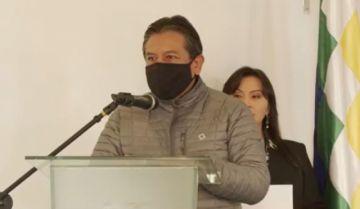 Choquehuanca aboga por 'sanar las heridas' y dice que 'la polarización no nos lleva a ningún lado'