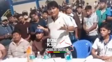 """De la Cruz cuestiona a Evo Morales por llamar """"buscapegas"""" a alteños"""