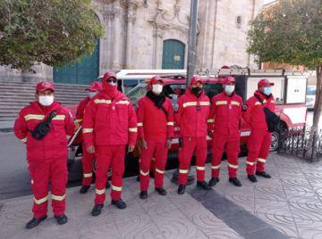 Bomberos participa de operativos preventivos de San Juan