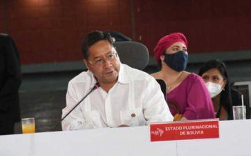 Luis Arce pide disculpas a Cuba y Venezuela por conflictos con Jeanine Añez
