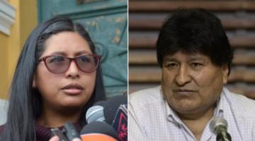 Eva Copa a Evo Morales: Tiene que pedir disculpas a El Alto, no está bien referirse de forma burlesca