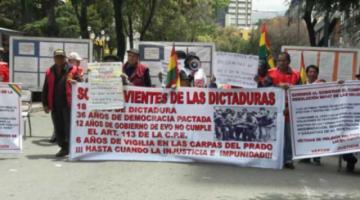 Víctimas de la dictadura denuncian ante CIDH nueve años de impunidad en casos de atentados