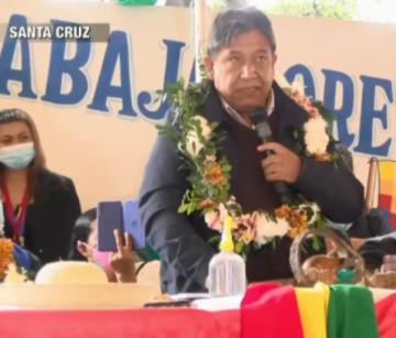 Choquehuanca pide la expulsión de militantes que mienten y buscan dividir al MAS