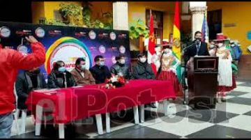 Lanzan convocatoria a la Cumbre de Culturas en Potosí
