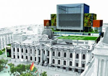 El nuevo edificio del Legislativo será inaugurado en agosto