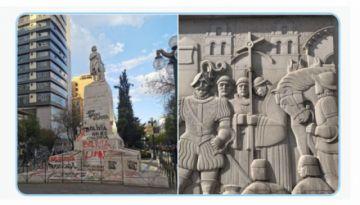 Sacha Llorenti sugiere desmontar estatuas de Colón y Alonso de Mendoza en La Paz