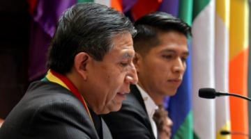 Choquehuanca niega triangulo de poder con Evo Morales, dice que gobiernan desde el gabinete