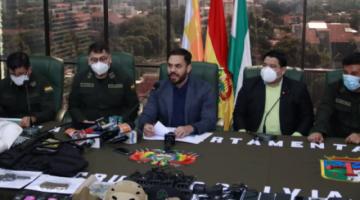 Policía aprehende a siete presuntos miembros de la Unión Juvenil Cruceñista