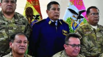 Aprehenden a dos excomandantes de las Fuerzas Armadas por caso de supuesto golpe de Estado