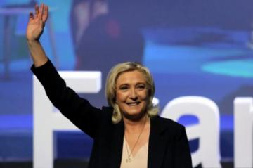 Marine Le Pen fue reelegida sin sorpresa como líder del partido de ultraderecha francés