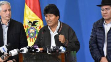 """Revelan que Morales y García Linera fueron convocados a declarar en enero por caso """"golpe"""""""