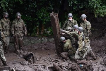Hay incertidumbre sobre el número de víctimas tras un deslizamiento de tierra en Japón