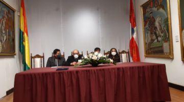El Senado condecora al periódico El Potosí en su aniversario