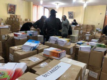 Verificarán que textos educativos lleguen a beneficiarios en Potosí